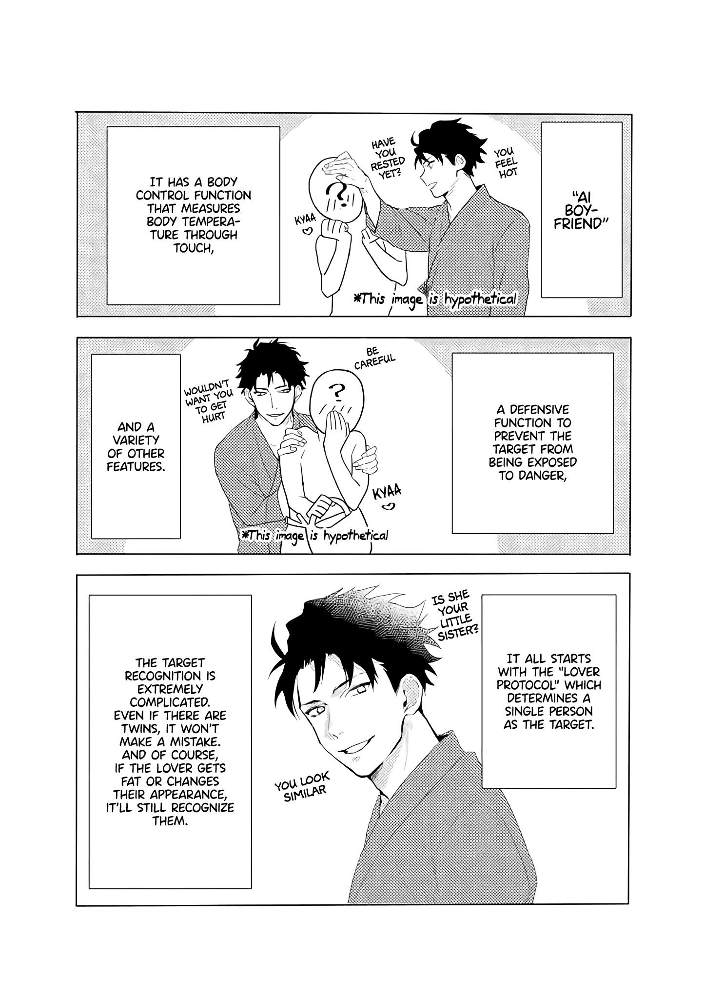 AI boyfriend and Unpopular Doctor - chapter 5 - #2