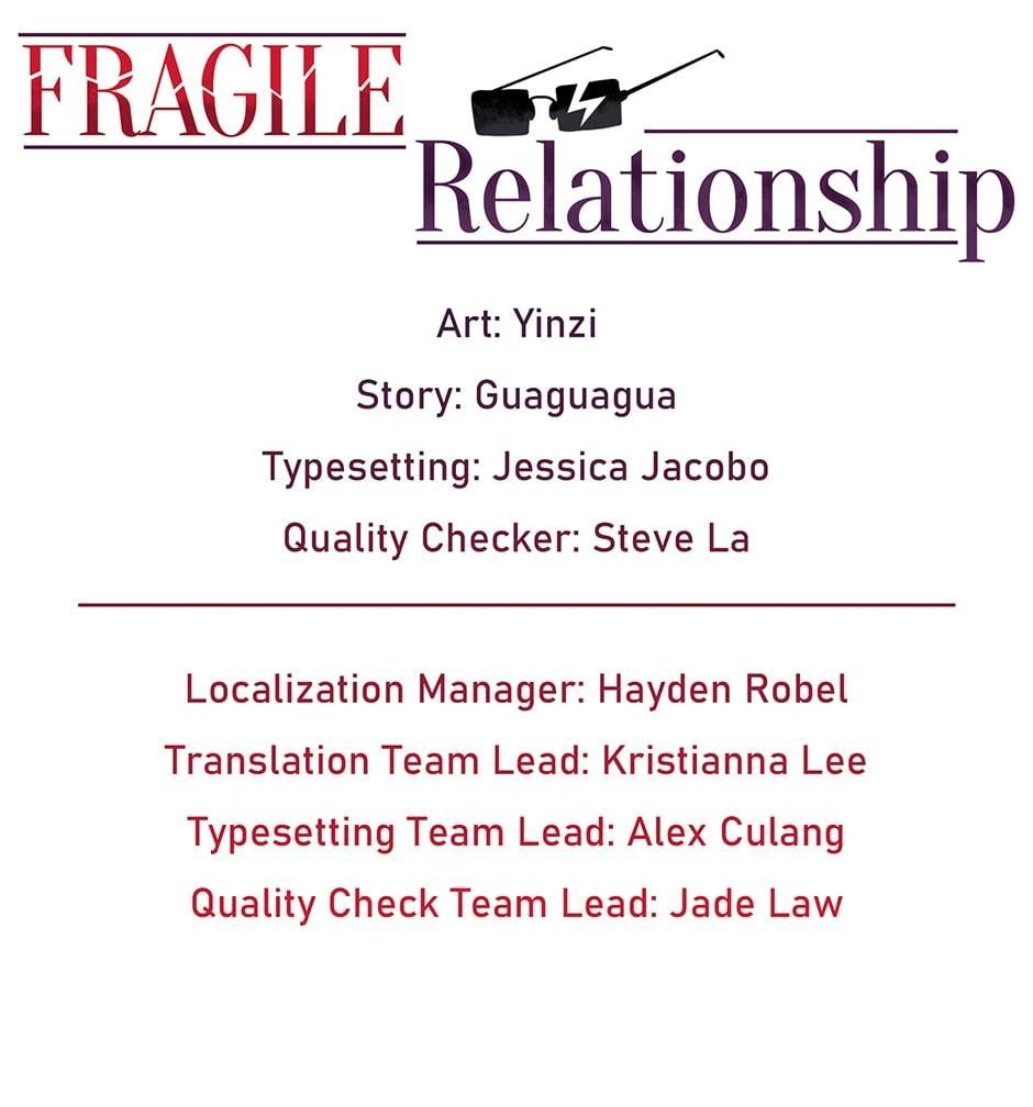 Fragile Relationship - chapter 40 - #1