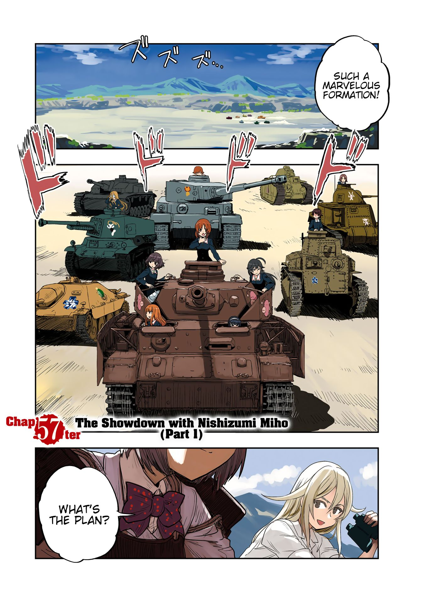 Girls Und Panzer - Ribbon no Musha - chapter 57 - #2