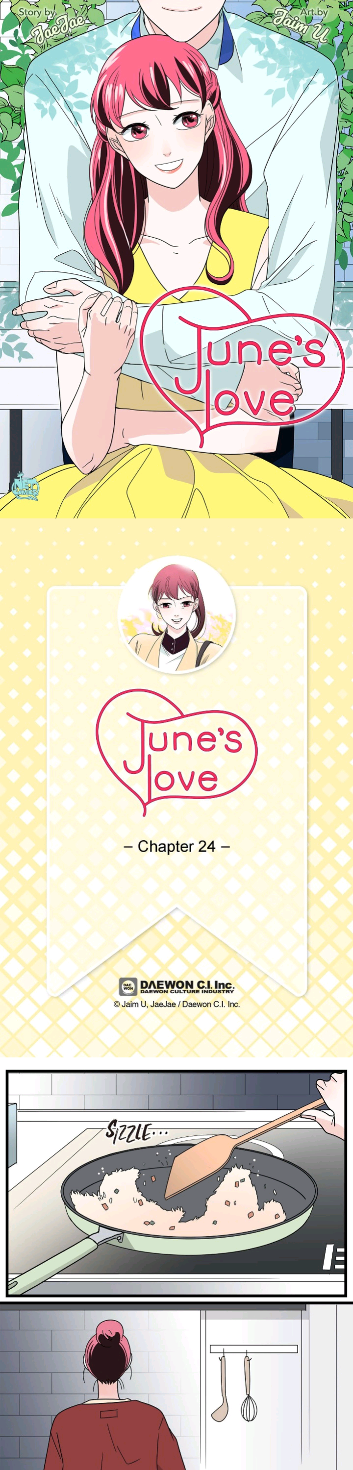 June'S Love - chapter 24 - #1