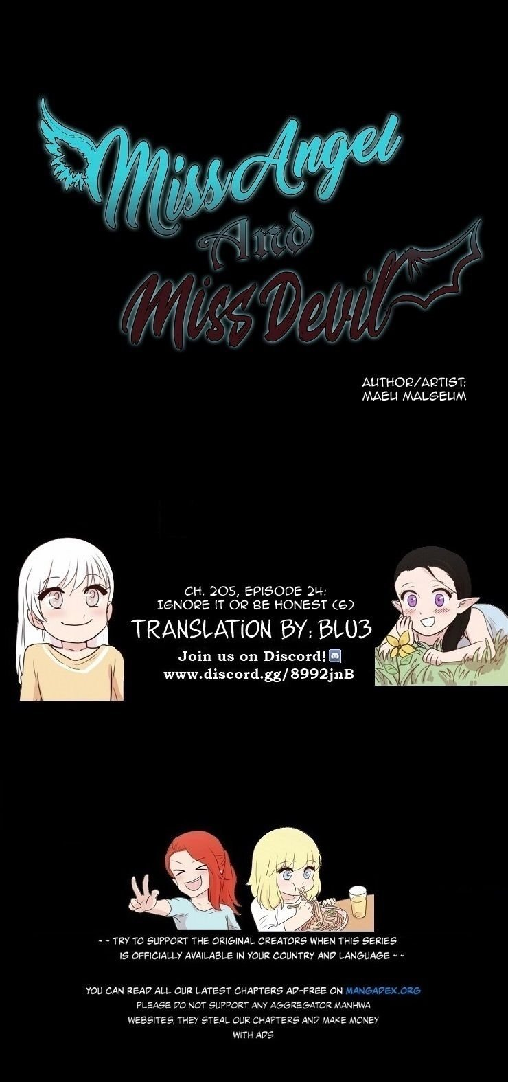 Miss Angel and Miss Devil - chapter 205 - #1