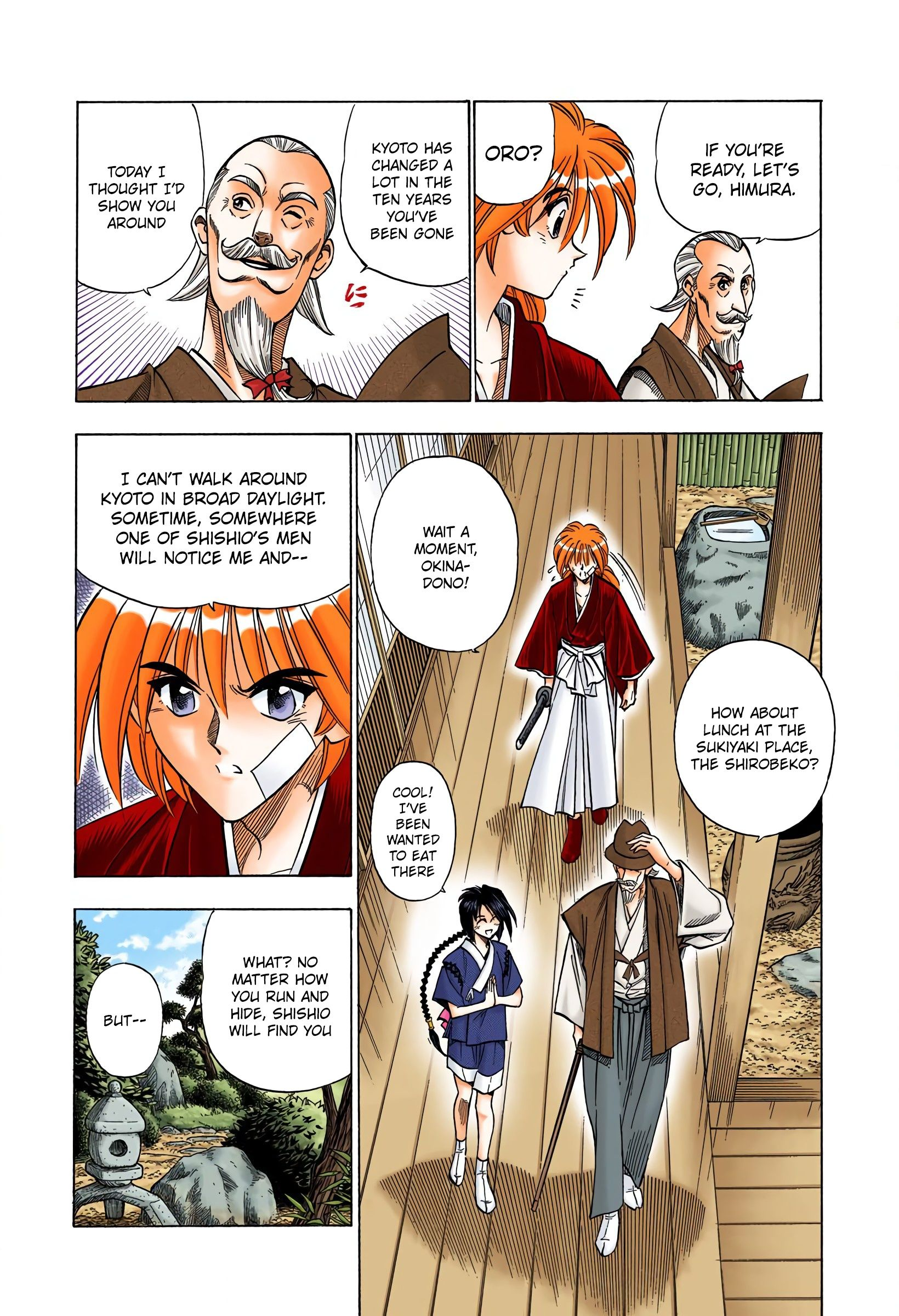 Rurouni Kenshin - Digital Colored Comics - chapter 75 - #3